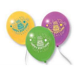 PEGASO - 10 palloncini Happy Birthday