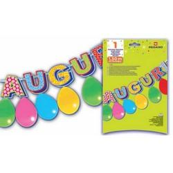 PEGASO - Kit festone Auguri 1,5 mt