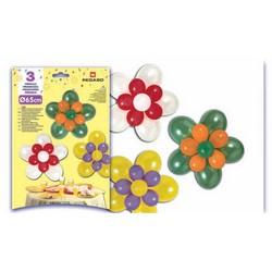 PEGASO - Kit palloncini 3 fiori