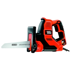 BLACK+DECKER - Sega Multifunzione Scorpion 500w con 3 lame