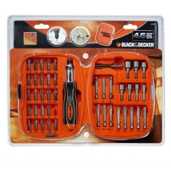 BLACK+DECKER - Set 45pz cacciavite