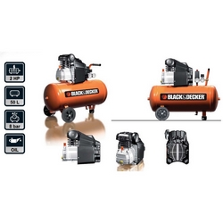 BLACK+DECKER - Compressore lubrificato BD205/50 RC2