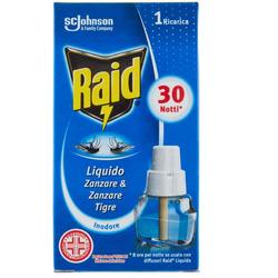 RAID - Ricarica insetticida 30 notti