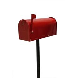 ALUBOX - Palo per cassetta postale USA