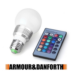 ARMOUR - Lampadina LED multicolor