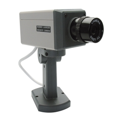 AVIDSEN - Dummy Camera - Telecamera Finta Motorizzata Con Ir