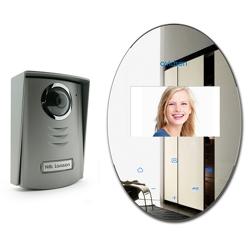 AVIDSEN - Videocitofono A Colori 2 Fili  Effetto Specchio