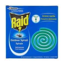 RAID - 10 Spirali antizanzare