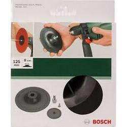 BOSCH - Platorello Con Velcro Per Abrasivi Diam 125mm
