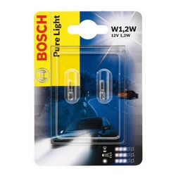 BOSCH - Lampadina Pure Light Vetro W1,2W