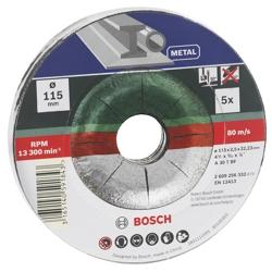 BOSCH - Set Mola Taglio Metallo
