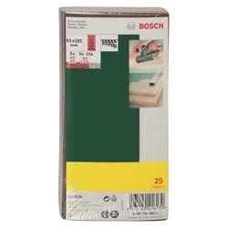 BOSCH - 25 Fogli Abrasivi 93x185