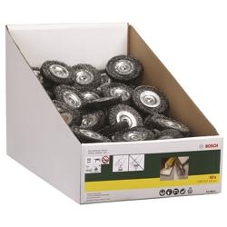 BOSCH - Spazzola A Disco  100 Per Codolo 6 Mm Per 20 Mm