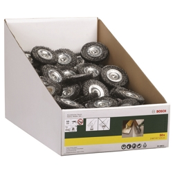 BOSCH - Spazzola A Disco  75 Per Codolo 6 Mm Per 10 Mm