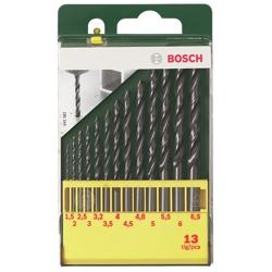 BOSCH - Set 13 Punte Metallo Hss-R 1,5-6,5