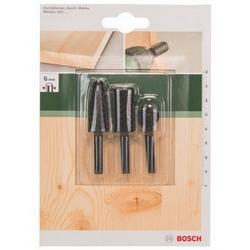 BOSCH - Set 3 Frese Per Legno E Metalli Non Ferrosi
