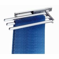 CORBETTA - Porta asciugamani in alluminio con tre braccia