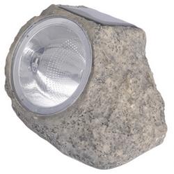 *** - Faretto solare a forma di pietra
