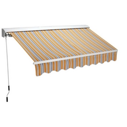 Tenda da sole barra quadr. semincassonata 300x200 - 199,00 €