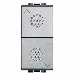BTICINO - Fp Light Tech - 2 Pulsanti No Interbloccati