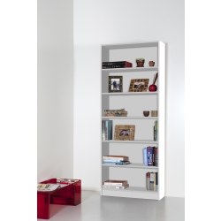 Libreria Laser 6 ripiani Bianco-109,00 €