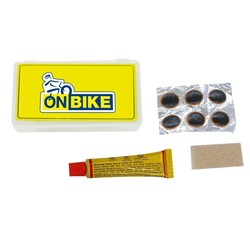 ON BIKE - Kit Tubetto Mastice E Pezze Assortite