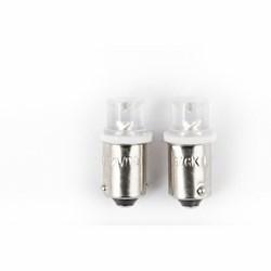 START - Lampadine Spia 1 Led Bianco (12v 4w) 2pz