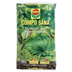 COMPO - Compo Sana Terriccio Per Piante Verdi 20 Lt