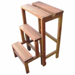 C.R.O. - Scaletta in legno 3 gradini 23x45xH59 cm
