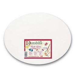 DECORABILIA - Tela per pittura ovale
