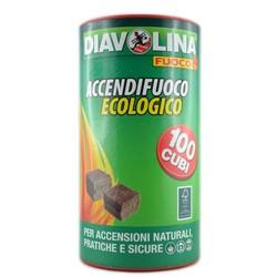 DIAVOLINA FUOCO - Accendifuoco Ecologico Barattolo