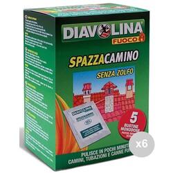DIAVOLINA FUOCO - Spazzacamino pulitore bustine