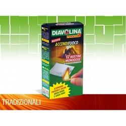 DIAVOLINA FUOCO - Accendifuoco 12 Bustine