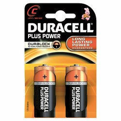 DURACELL - Duracell Plus Power Mezzatocia ( C )