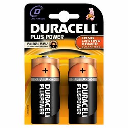 DURACELL - Duracell Plus Power Torcia (D)