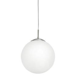 Rondo Sospensione Sfera Vetro Bianco + Nickel-26,90 €