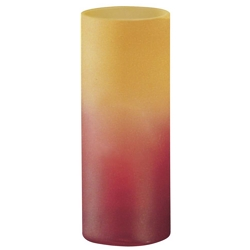 EGLO - Lampada Tavolo Tubo Giallo/Rosso 100w