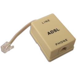 ELECTRALINE - Filtro Adsl Presa/Spina Plug