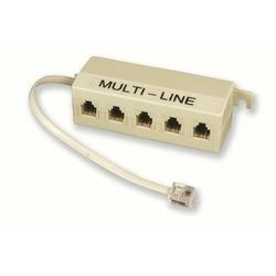 ELECTRALINE - Multipresa Con 5 Plugs Con Cavo