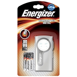 ENERGIZER - Torcia Compact Led Metal