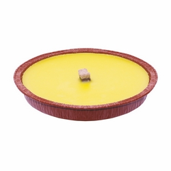 *** - Maxi fiaccola citronella color rame diam