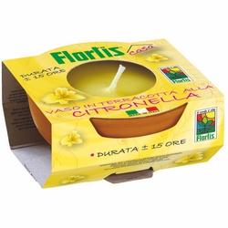 *** - Vaso terracotta citronella diam 7,5 cm,