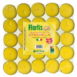 *** - Tealights citronella 4 h, 25 pz