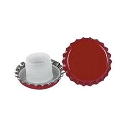 FERRARI - Tappi Corona Diametro 29 Rosso Bidul Lungo