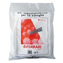 FERRARI - Kit Imbottigliamento Tappi Plastica + Gabbie