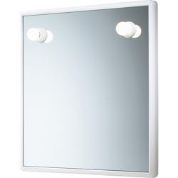 GEDY - Junior-Specchio 55x60 Piu Luci Bianco Ce