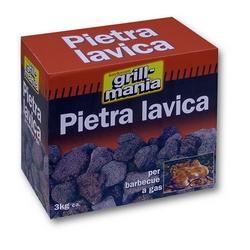 GRILL MANIA - Pietra lavica per barbecue