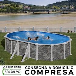 GRE - Corcega 500x300xh.132 cm