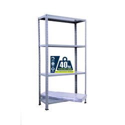 GRIMA - Kit scaffale 75x30xh.136 cm