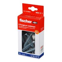 FISCHER - 4 Tasselli Wds12 Per Scaldabagni